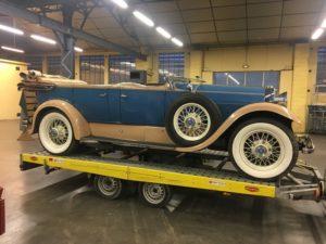 1929 Lincoln Model L 7 Passenger Touring Scuderia Vince